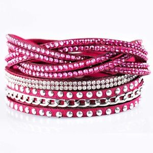 Bracelet or Choker - Work Your Magic Pink